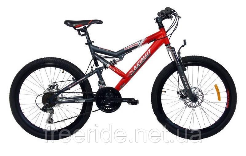 Подростковый Велосипед Azimut Scorpion 24 D