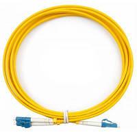 Оптический патчкорд CMS LC/UPC-LC/UPC SingleMode, Duplex, 3m (UPC-3LCLC(SM)D(ON))