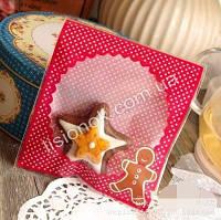 Упаковочный пакет пряник 10смХ10см, для подарков, сладостей и и Hand-made изделий, фото 1