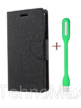 Чехол книжка Goospery для ZTE Blade L4 Pro + Мини Led-лампа USB (в комплекте). Подарок!!!, фото 2