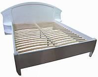 Кровать деревянная Афина с резьбой Делфис