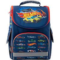 Рюкзак школьный каркасный Kite Hot Wheels, фото 1
