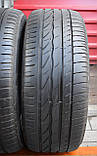 Шины б/у 215/55 R16 Bridgestone Turanza ER300, ЛЕТО, пара, 5-6 мм, фото 2