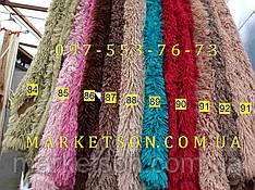 Покрывало плед травка 220х240 бамбуковое меховое пушистое с длинным ворсом Koloco много цветов