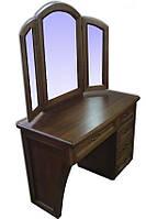 Туалетный столик деревянный с зеркалом №2 Делфис