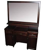 Туалетный столик деревянный с зеркалом № 6 Делфис