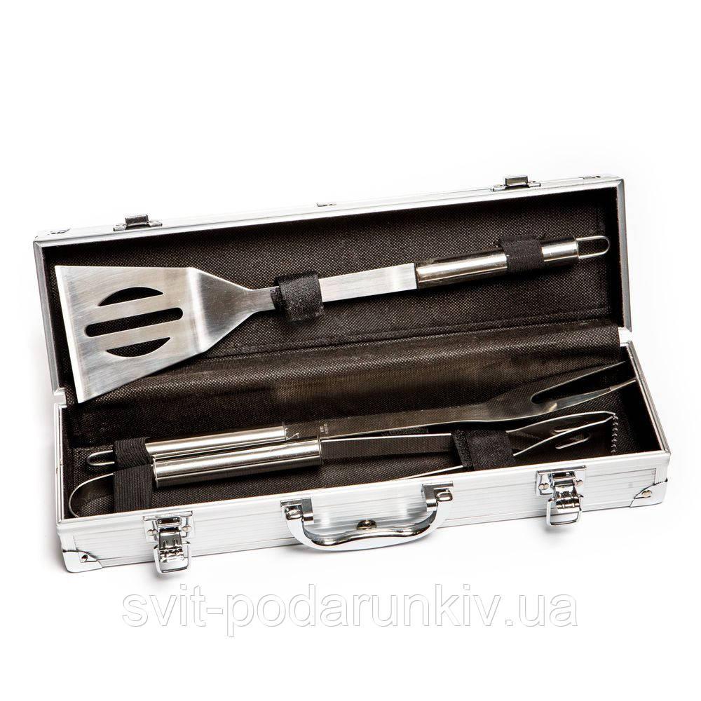 Подарочный набор для барбекю в кейсе на 3 предмета XTS-B016