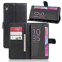 Чехол-книжка Litchie Wallet для Sony Xperia XA Ultra / C6 Ultra F3212 Черный