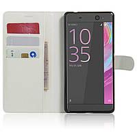 Чехол-книжка Litchie Wallet для Sony Xperia XA Ultra / C6 Ultra F3212 Белый