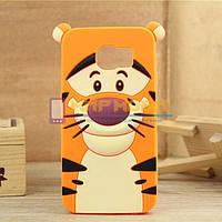 Чехол-бампер силиконовый Samsung Galaxy S6 G920 G9200 Тигр