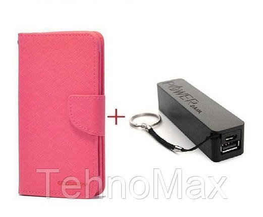 Чехол книжка Goospery для Xiaomi Mi Note 3 + Внешний аккумулятор (Powerbank) 2600 mAh (в комплекте). Подарок!!!, фото 2