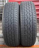 Шины б/у 215/65 R16 Bridgestone Dueler H/T 688, ЛЕТО, 4.5 мм, пара, фото 5