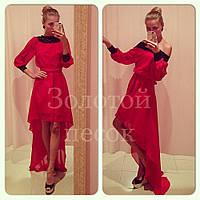 Длинное платье (шифон) Код:110671731