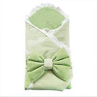 """Конверт-одеяло """"Кристина"""" зеленый"""