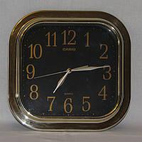 Часы CASIO IQ-02-1R квадратные настенные, размер 26 х 26 см