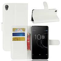Чохол-книжка Litchie Wallet для Sony Xperia XA1 Plus G3412 Білий