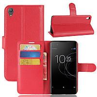 Чохол-книжка Litchie Wallet для Sony Xperia XA1 Plus G3412 Червоний