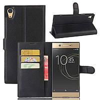 Чехол-книжка Litchie Wallet для Sony Xperia XA1 Ultra G3212 Черный
