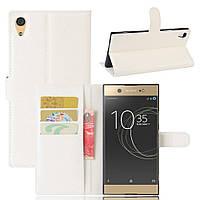 Чехол-книжка Litchie Wallet для Sony Xperia XA1 Ultra G3212 Белый
