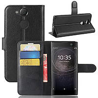 Чехол-книжка Litchie Wallet для Sony Xperia XA2 H4113 / H4133 Черный