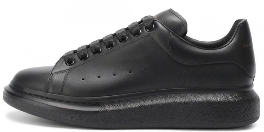 Мужские кроссовки Alexander McQueen (Premium-class) черные