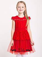 Платье для девочки,детское,нарядное,модное 5-8 лет, фото 1
