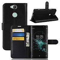 Чехол-книжка Litchie Wallet для Sony XA2 Plus H4413 Черный