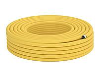 25 Труба гофрированная для газа из нержавеющей стали DISPIPE 25HFPY, отожженная в желтой оболочке