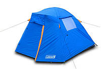 Туристическая палатка Coleman 1013 2-х местная. 2-х слойная. Тамбур
