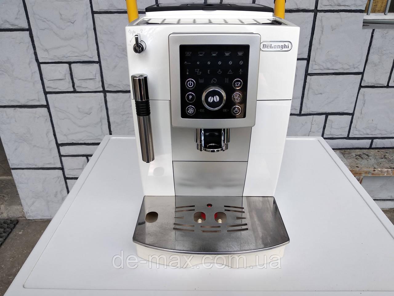 Кофеварка кофемашина Делонги Delonghi ECAM 23.210 белая