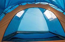 Туристическая палатка Coleman 1014 3-х местная. 2-х слойная. С навесом, фото 2