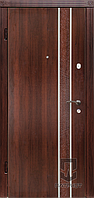 Двери входные Патриот Серия МS Накладка Latte, фото 1
