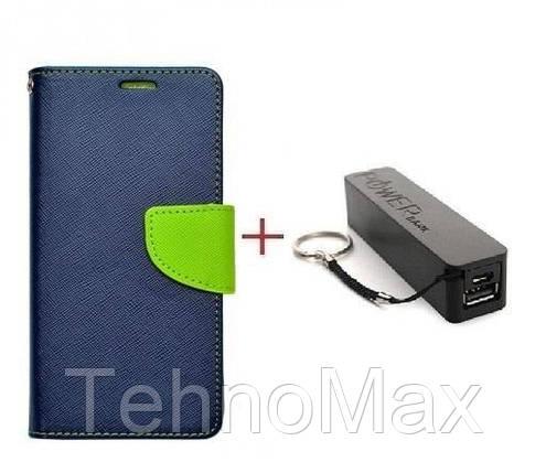 Чехол книжка Goospery для Asus ZenFone Max + Внешний аккумулятор (Powerbank) 2600 mAh (в комплекте). Подарок!!!, фото 2