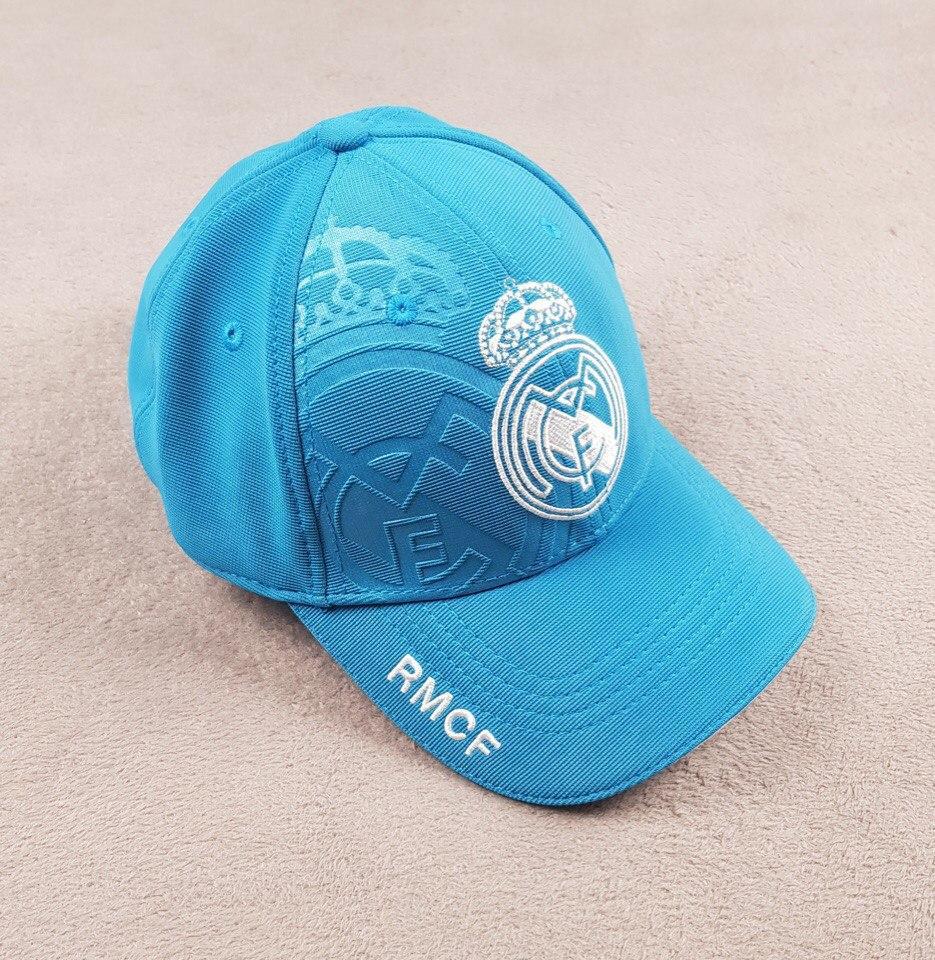 Бейсболка, кепка Реал Мадрид бирюзовая