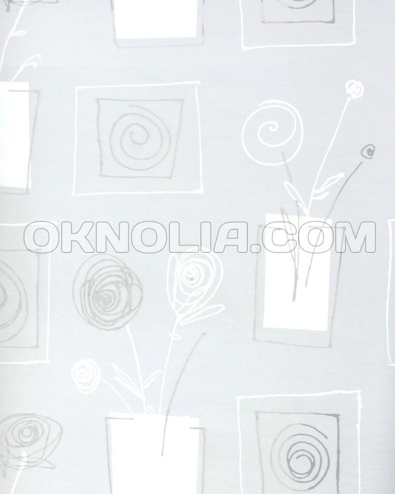 Ролеты тканевые на окна, жалюзи, рулонная штора Аниара 4041 прозрачный, 40*160 см