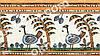 Ролеты тканевые на окна, жалюзи, рулонная штора Аркен 4002 оранжевый, 40*160 см, фото 2