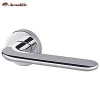 Ручка дверная на розетке Armadillo Excalibur хром (Китай)