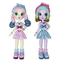 Куколки Off the Hook Style BFFs, Naia & Jenni (Весеннее диско) Игровой набор Куклы манекены Ная и Дженни