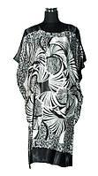 Женское платье большой размер (В0841)
