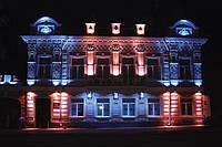 Мантаж фасадного освещения