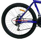 Горный велосипед Azimut Voltage 26 D+ сине-черный, фото 6