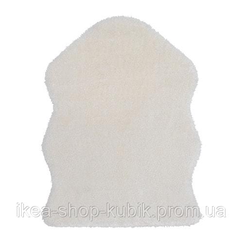 IKEA TOFTLUND Килим, білий, 55x85 см
