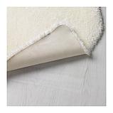 IKEA TOFTLUND Килим, білий, 55x85 см, фото 3