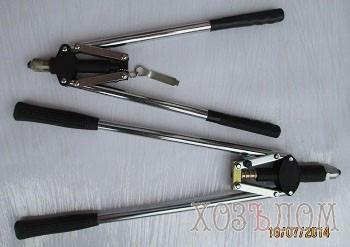 Заклепочники рычажные (Длина 535 мм TOPEX)