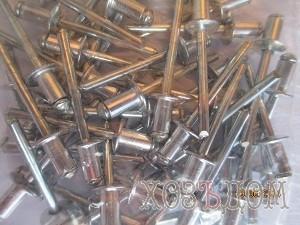 Заклепки вытяжные алюминиевые ZYP (Заклепка 3.2-12 мм (50 шт) )