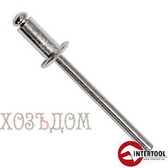 Заклепки вытяжные алюминиевые InterTool (Заклепка 3.2-8 мм (50 шт) )
