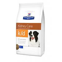 Hills PD Canine K/D лечебный корм для лечения заболеваний почек и сердечной недостаточности у собак 2 кг