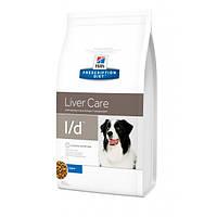 Hills PD Canine L/D лечебный корм для лечения заболеваний печени у взрослых собак 2 кг