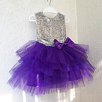 """Платье пышное """" Фиолет"""", фото 1"""