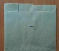 Бумажный пакет под картофель фри, жиростойкий 110х100х50, 1000шт/упаковка